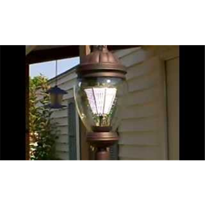 3700 lumens 35 watt  multi-voltage led lamp post--Click Here
