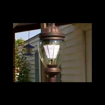 3700 lumens 35 watt  multi-voltage led lamp post--Click Here